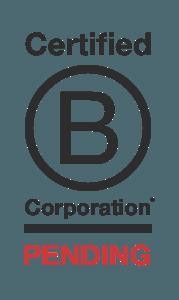 B-Corp Certification Status: Pending
